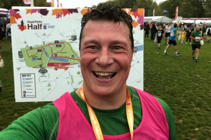Tim Roles Completes London Parks Half Marathon
